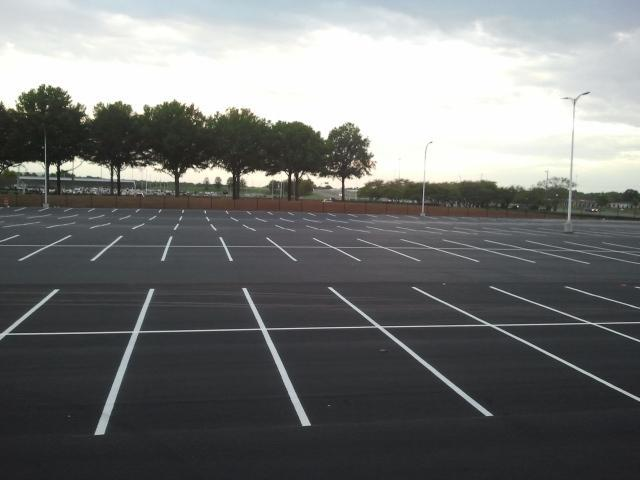 Parking Line Striping